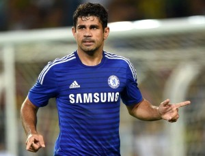 Diego Costa is one of the PFA Team of The Year This Season 2014/2015