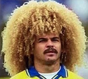 Carlos-Valderrama is one of the 10 Footballers Who Are Only Famous For One Thing