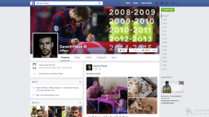 gerard pique is one of the Top 10 Most Popular Footballers on Social Media