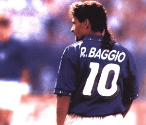 Roberto Baggio is one of the Top 10 Great Footballers To Have Never Won A Major International Trophy