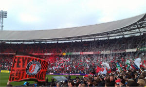 Stadion Feijenoord is one of the Top 10 Loudest Stadiums in Football