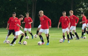 Manchester United is one of the Top 10 Football Academies in the world