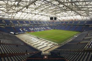 Veltins Arena is one of the biggest stadiums in the Germany Bundesliga