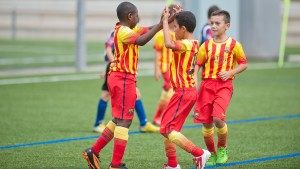 Barcelona is one of the Top 10 Football Academies in the world