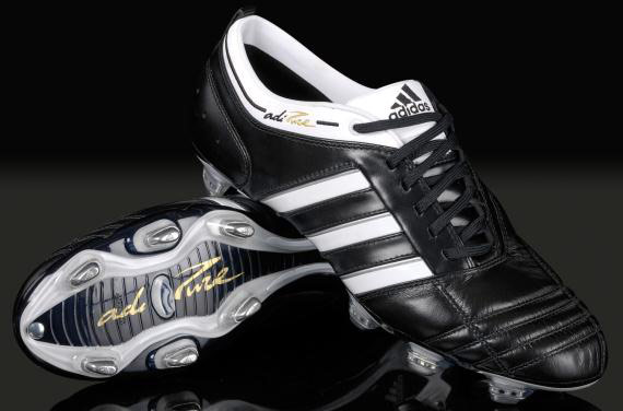 Adidas AdiPURE is one of the Top 10 Coolest Football Boots of All Times