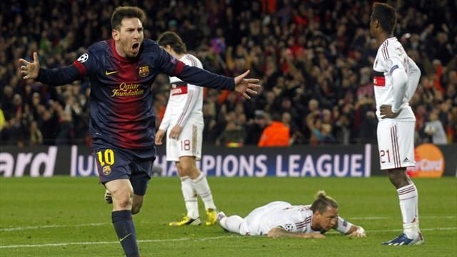 Barcelona 4-0 Milan is one of the Top 10 Champions League Comebacks
