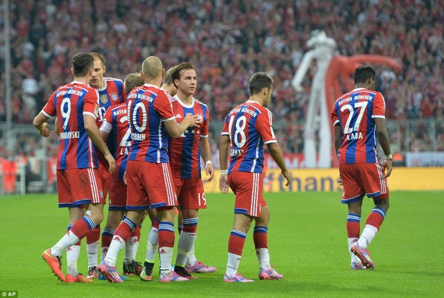 Bayern Munchen is one of the Top 10 Disappointing Football Teams During The 2014-15 Season