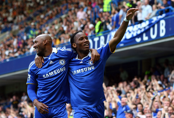 Drogba and Anelka are one of the Top 10 Premier League Strike Partnerships