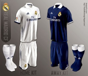 Real Madrid new kit is one of the Top 10 Best Kits for the 2015-16 season