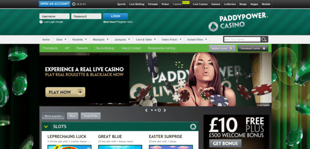 Top 5 Online Casinos You Can Trust - PaddyPower
