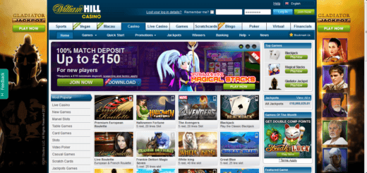 Top 5 Online Casinos You Can Trust - William Hill